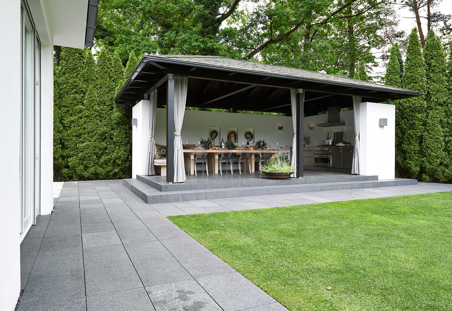 Stefanie Raum Outdoor Pavillon Raum Contemporary Interior