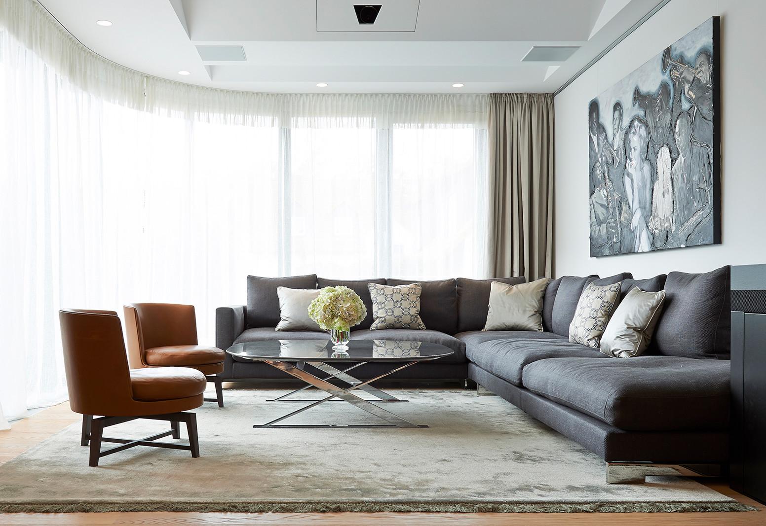 Hier sehen Sie ein Bild von Stefanie Raum Wohnzimmer Raumeindruck Raum Contemporary Interior